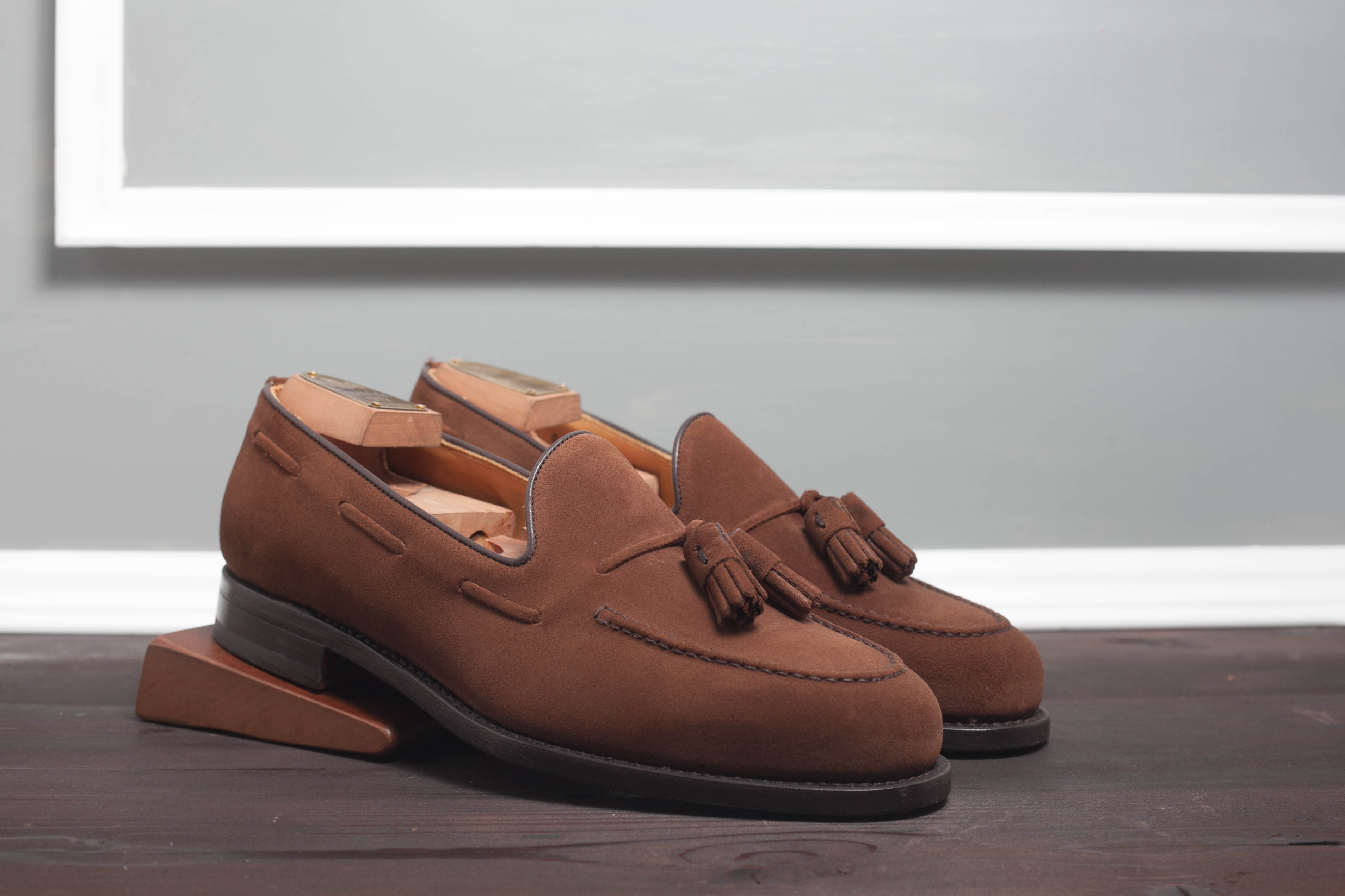 Лоферы Berwick 8491 Brown Suede